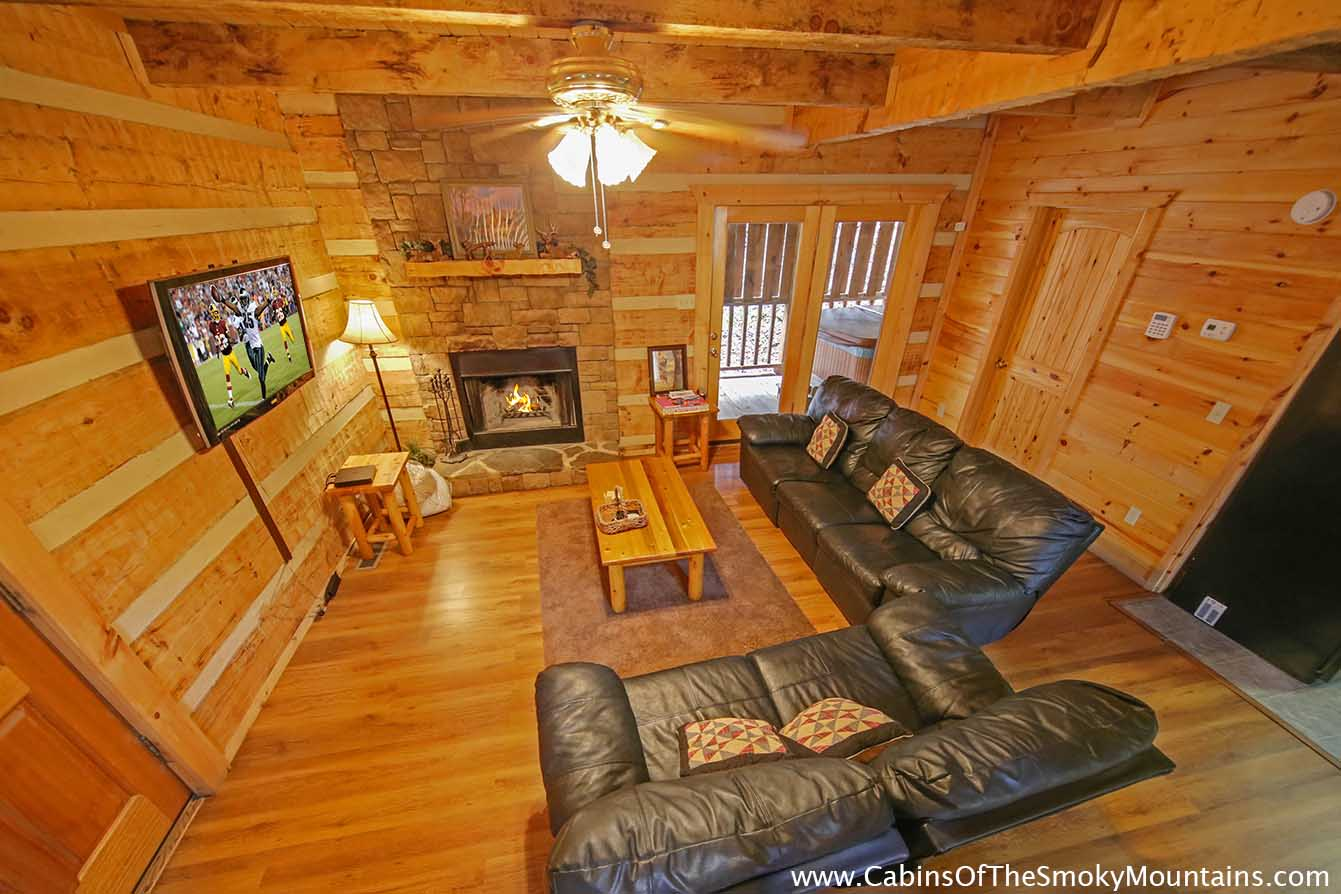 Pigeon forge cabin pure country 1 bedroom sleeps 4 - 1 bedroom cabin in gatlinburg tn ...