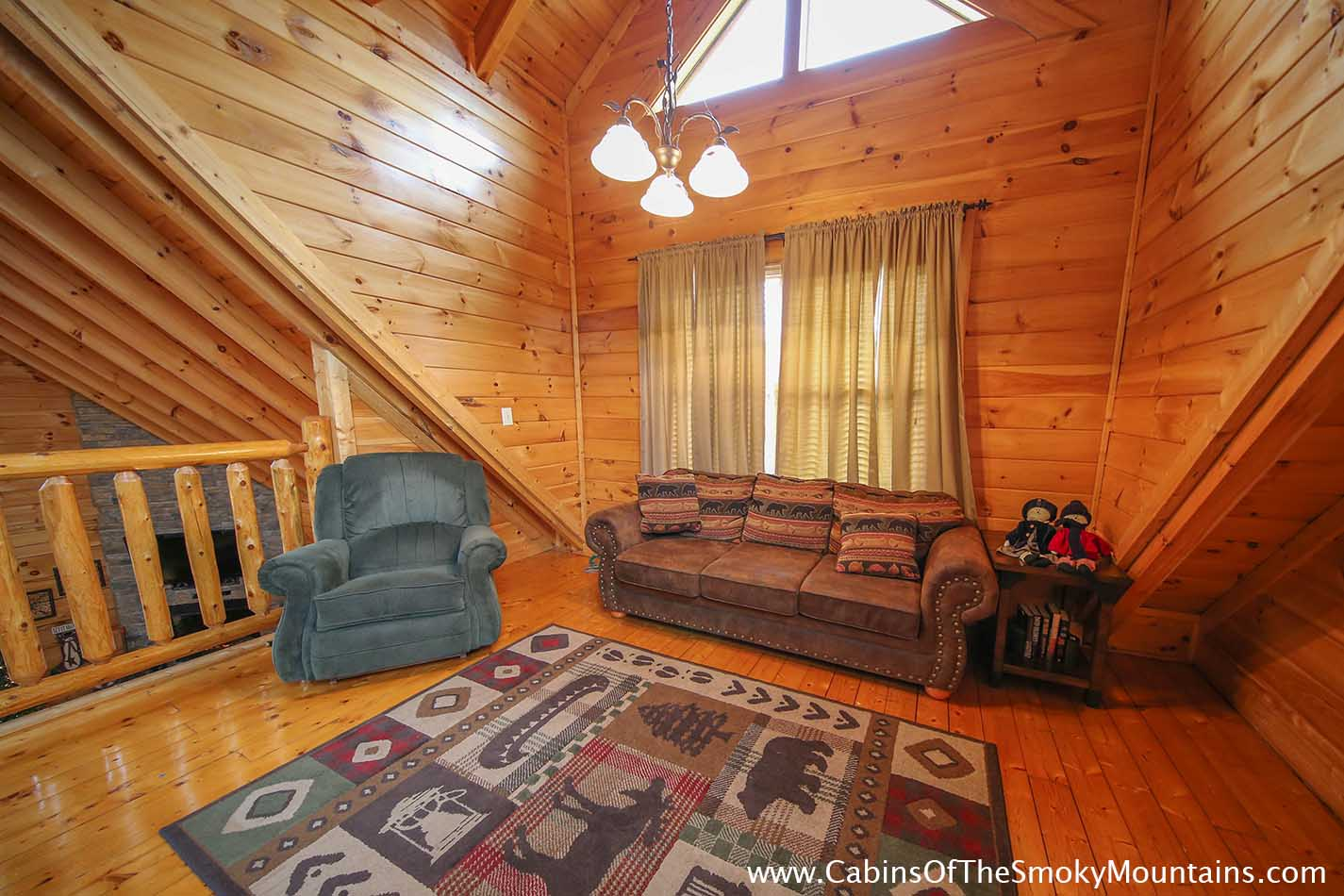Pigeon Forge Cabin Smoky Mountain Escape 2 Bedroom Sleeps 8
