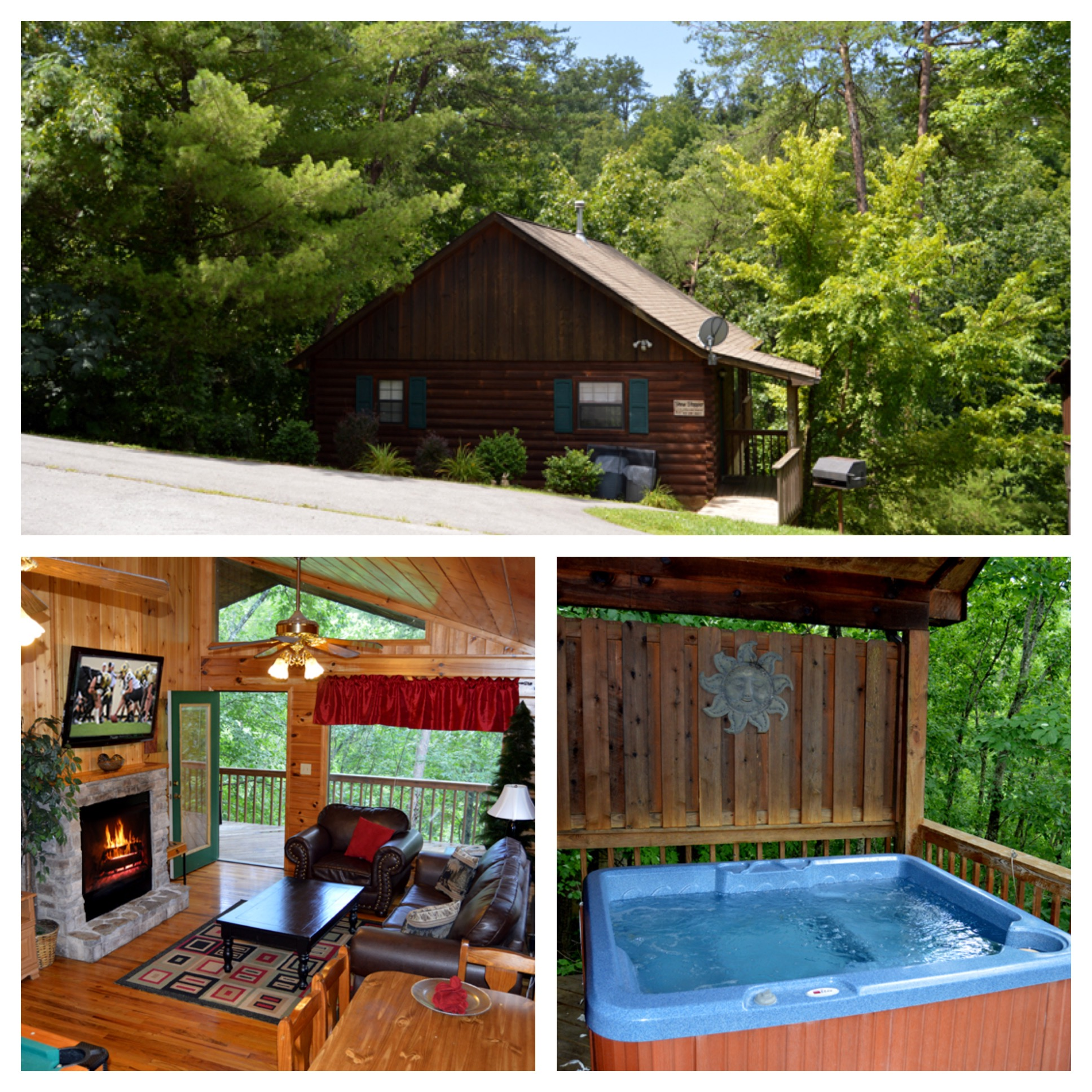 Pigeon Forge Cabin Show Stopper 1 Bedroom Sleeps 4