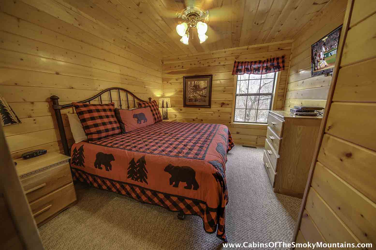 Pigeon Forge Cabin The Journey 4 Bedroom Sleeps 12 Jacuzzi Swimming Pool Access