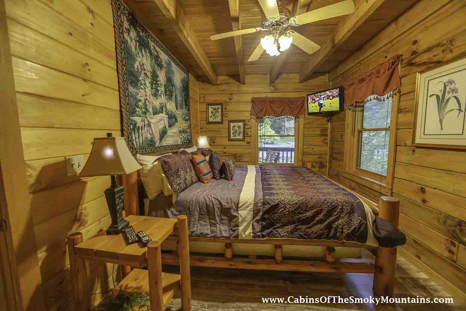Pigeon forge cabin hidden creek from for Pigeon forge cabin coupons