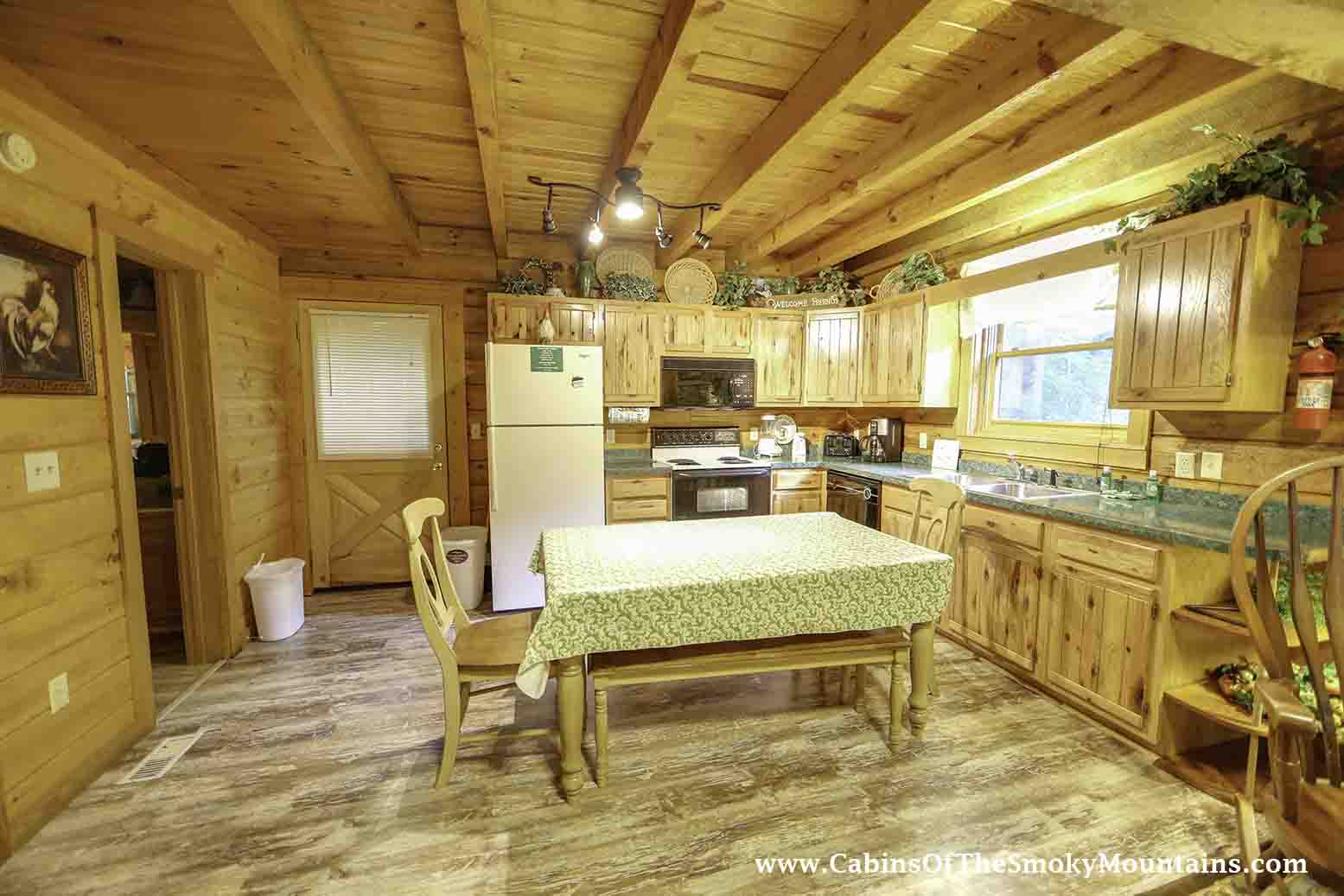 pigeon forge cabin hidden creek from