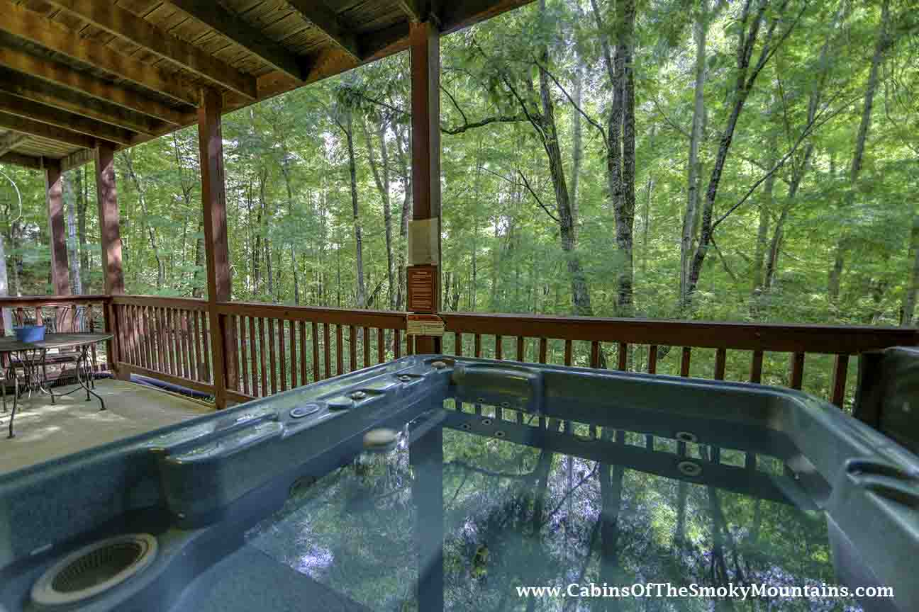 Pigeon Forge Cabin Paradise Hideout 4 Bedroom Sleeps 10 Jacuzzi