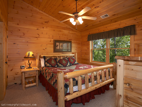 gatlinburg cabin birds eye view 2 bedroom sleeps 12 swimming