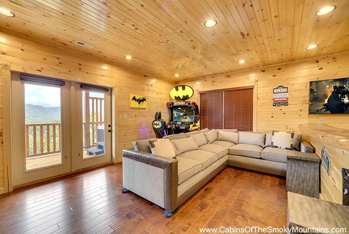 Gatlinburg Cabin For Spacious Skies 5 Bedroom Sleeps 16