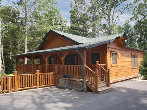 Gatlinburg Cabin Hide A Way 1 Bedroom Sleeps 6
