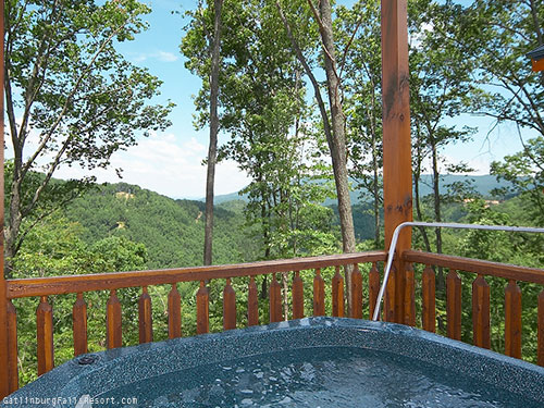 Gatlinburg cabin high ground 3 bedroom sleeps 12 - Pet friendly cottages with swimming pool ...