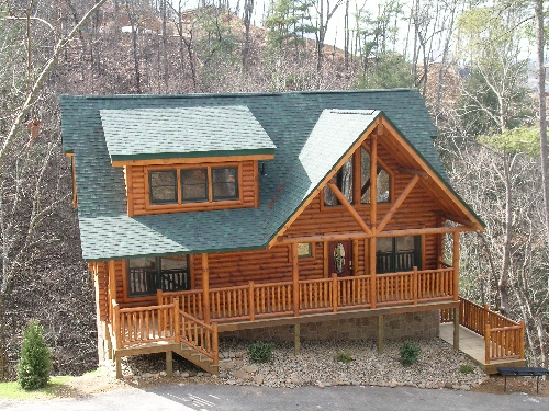 pigeon forge cabin bear creek lodge from