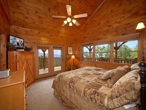 Gatlinburg Cabin Mountaintop Mansion 9 Bedroom