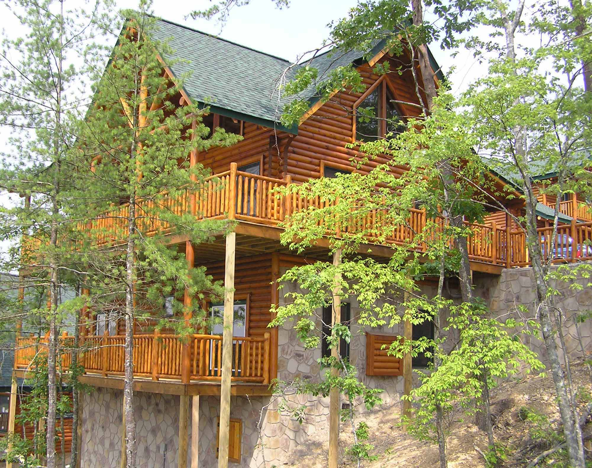 Smoky Mountain Cabins ~ Pigeon forge cabin smoky mountain haven from