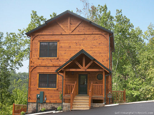 Gatlinburg cabin moose tracks 4 bedroom sleeps 16 - 4 bedroom cabins in gatlinburg tn ...