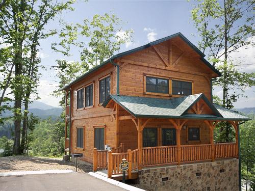Gatlinburg Cabin Lofty Mountain Grandeur 2 Bedroom Sleeps 11
