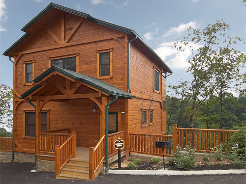 Gatlinburg cabin lookout ridge 3 bedroom sleeps 12 for Smoky mountain ridge cabins
