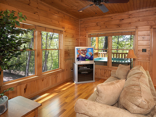 pigeon forge cabin wilderness lodge 4 bedroom sleeps 12