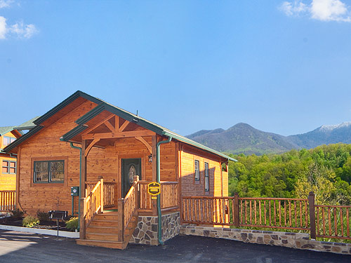 Pigeon Forge Cabin Amazing Grace 1 Bedroom Sleeps 8
