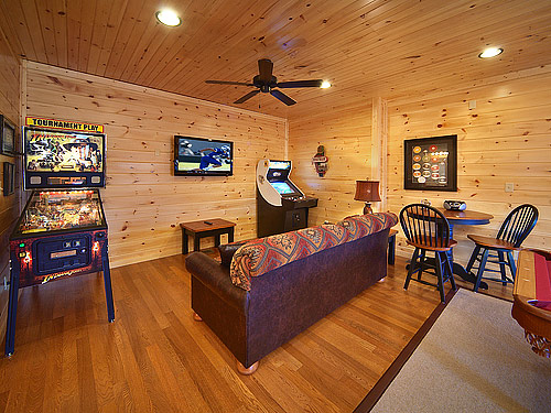 Pigeon forge cabin amazing grace 1 bedroom sleeps 8 - 1 bedroom cabin in gatlinburg tn ...