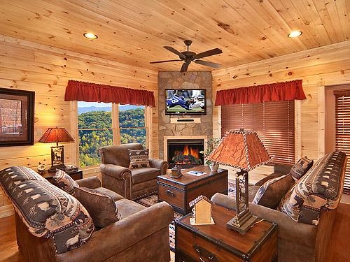 gatlinburg cabin the retreat 3 bedroom sleeps 10