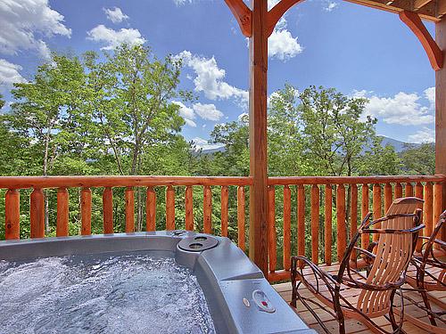 Gatlinburg cabin morning glory 3 bedroom sleeps 10 - Gatlinburg falls resort swimming pool ...