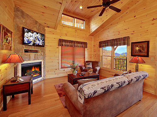 Pigeon Forge Cabin Foolin 39 Around 1 Bedroom Sleeps 8