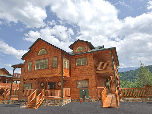 Pigeon Forge Cabin Gatlinburg Mansion 9 Bedroom Sleeps 32