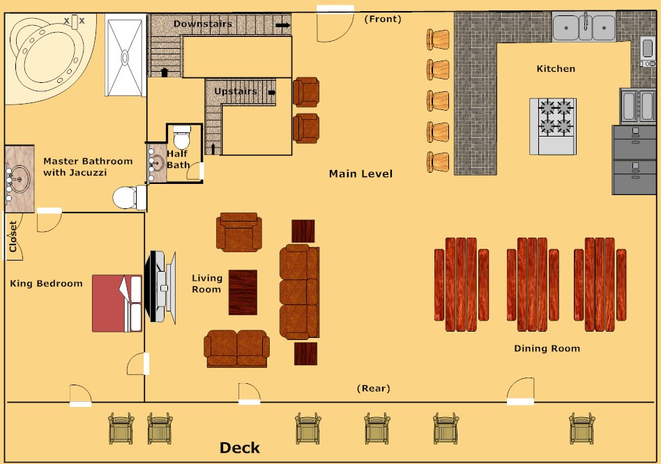 Gatlinburg Cabin Gatlinburg Mansion 9 Bedroom Sleeps 32 Jacuzzi Bunk Beds Swimming