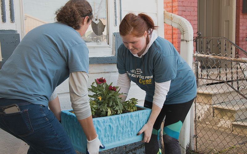 CKE Cares is our community outreach program focused on the neighborhood around our corporate headquarters in Louisville, KY.