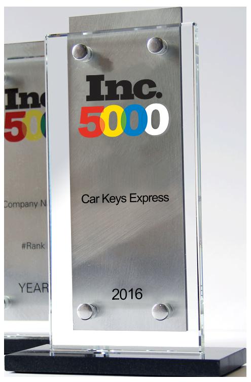 Inc 5000 Award 2016
