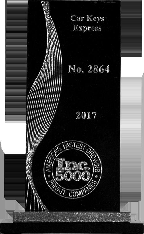 Inc 5000 Award 2017