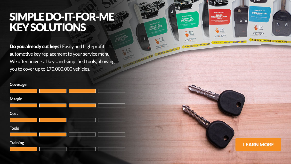 Simple Do-it-for-me all-in-one Car Key Products