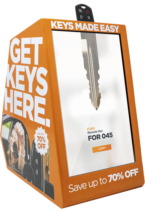 CKE Retail Optical Key Scanner