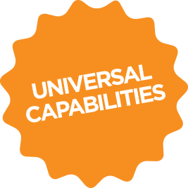 univeral capbilities