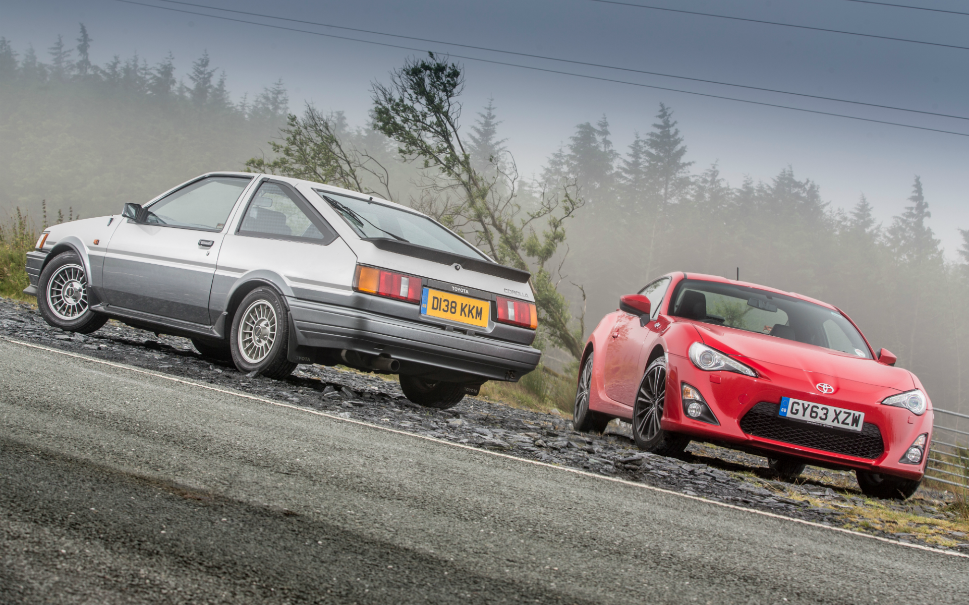 these stunning ae86 and gt86 images are the perfect