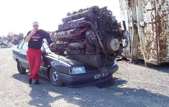 biggest engine truck - photo #14