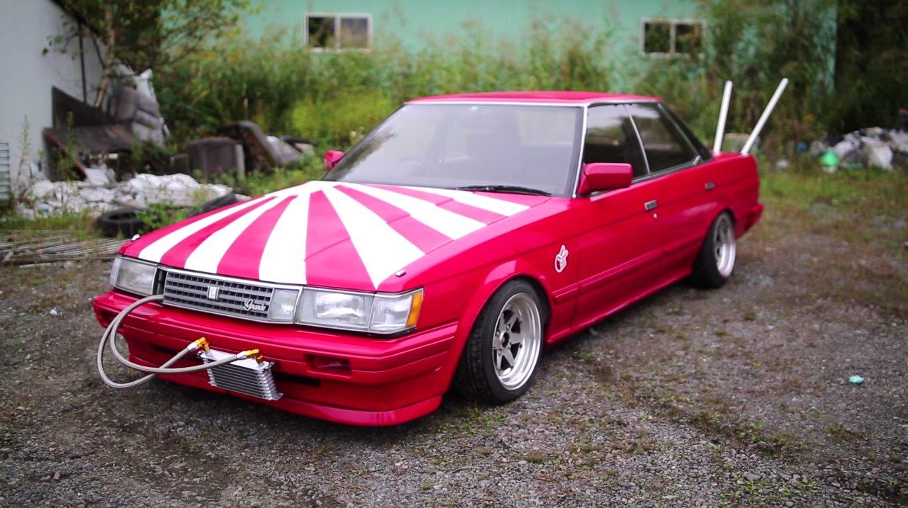 This Parade Of Japanese Bosozoku Cars Will Make You ...