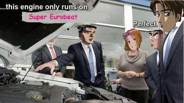 Iv'e made one of the dankest meme for initial D on CT ...