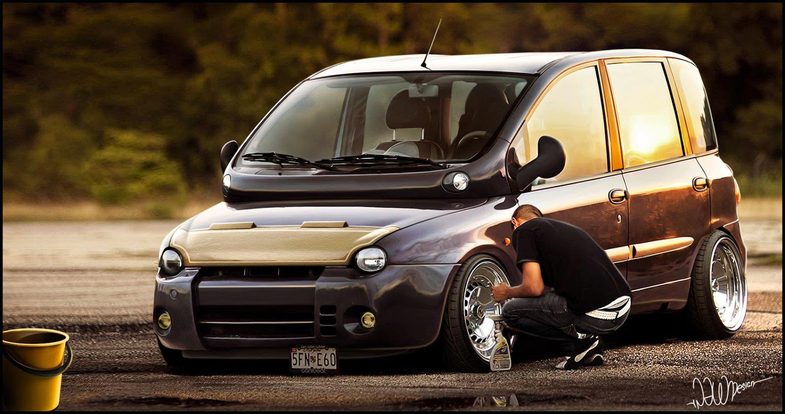 Driving A Stanced Multipla Is Better Than Watching A