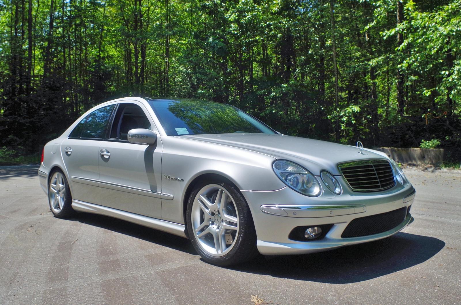 2004 mercedes benz e55 amg