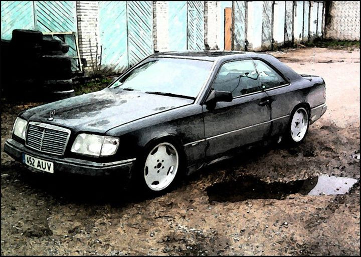 1989 mercedes benz w124 ce for Mercedes garage 93