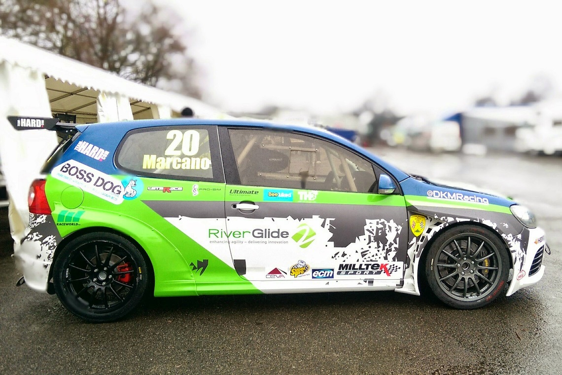 Damani marcano s 2015 volkswagen vw golf gti r cup car mk5 chassis