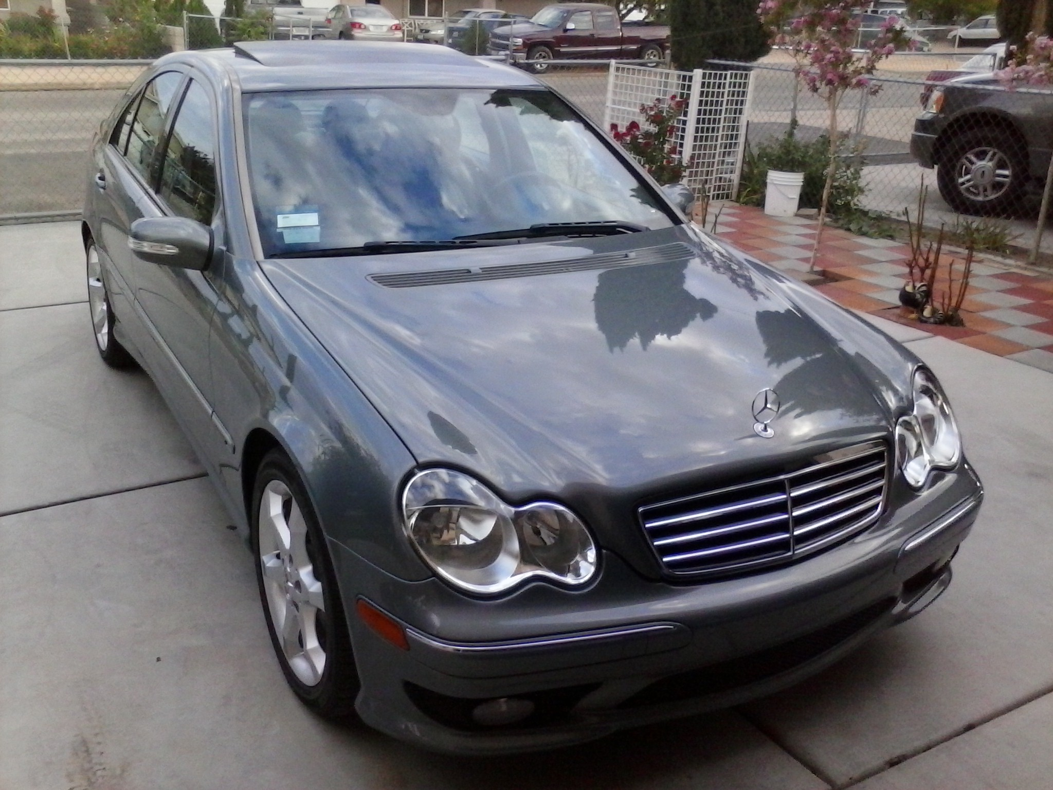 2007 mercedes benz c230 sport for Mercedes benz 2007 c230