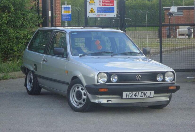 1990 volkswagen mk2 polo breadvan for Garage skoda paray vieille poste
