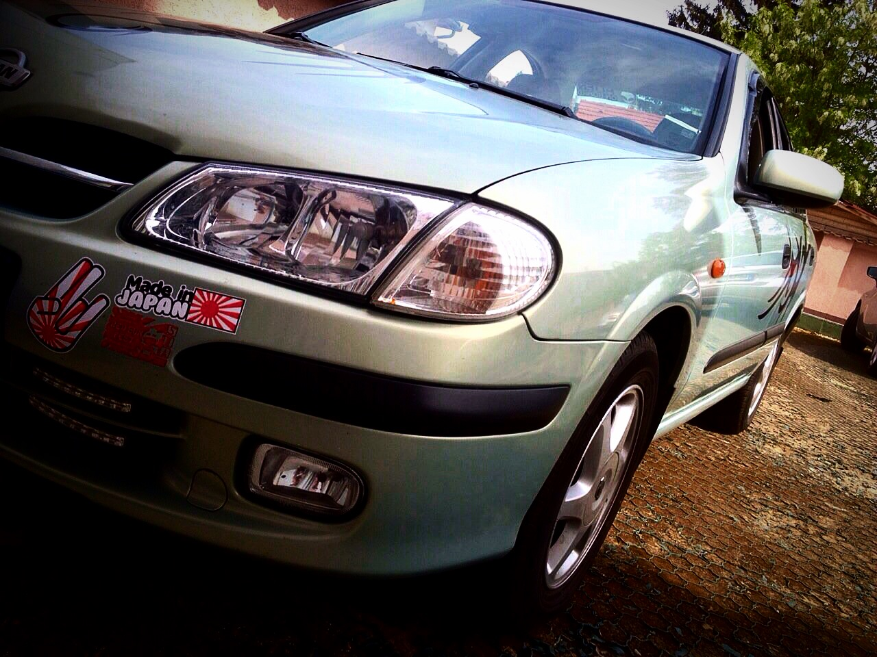 2002 nissan almera for Garage nissan paris