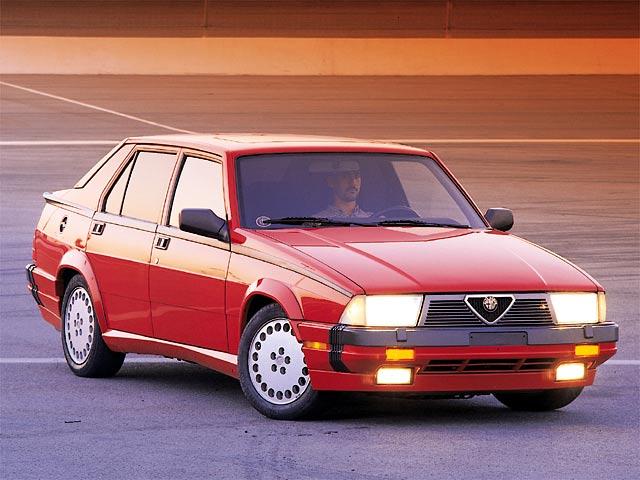 The Alfa Romeo 75 3 0 V6 Quadrifoglio Verde With 192 Hp