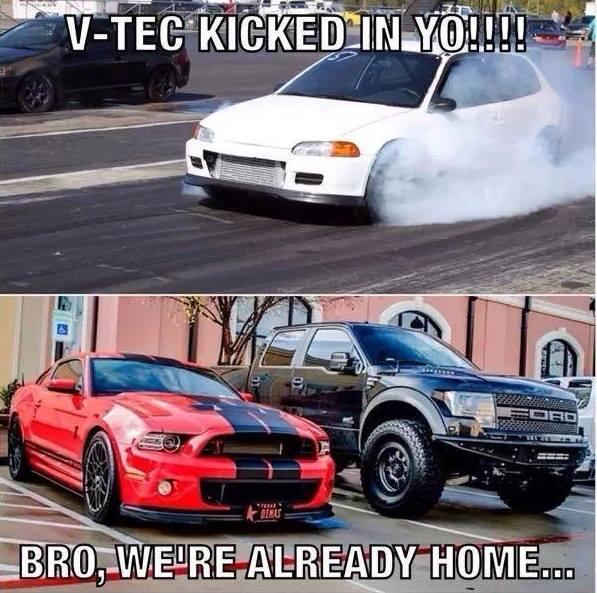 Ricer Vs Fords