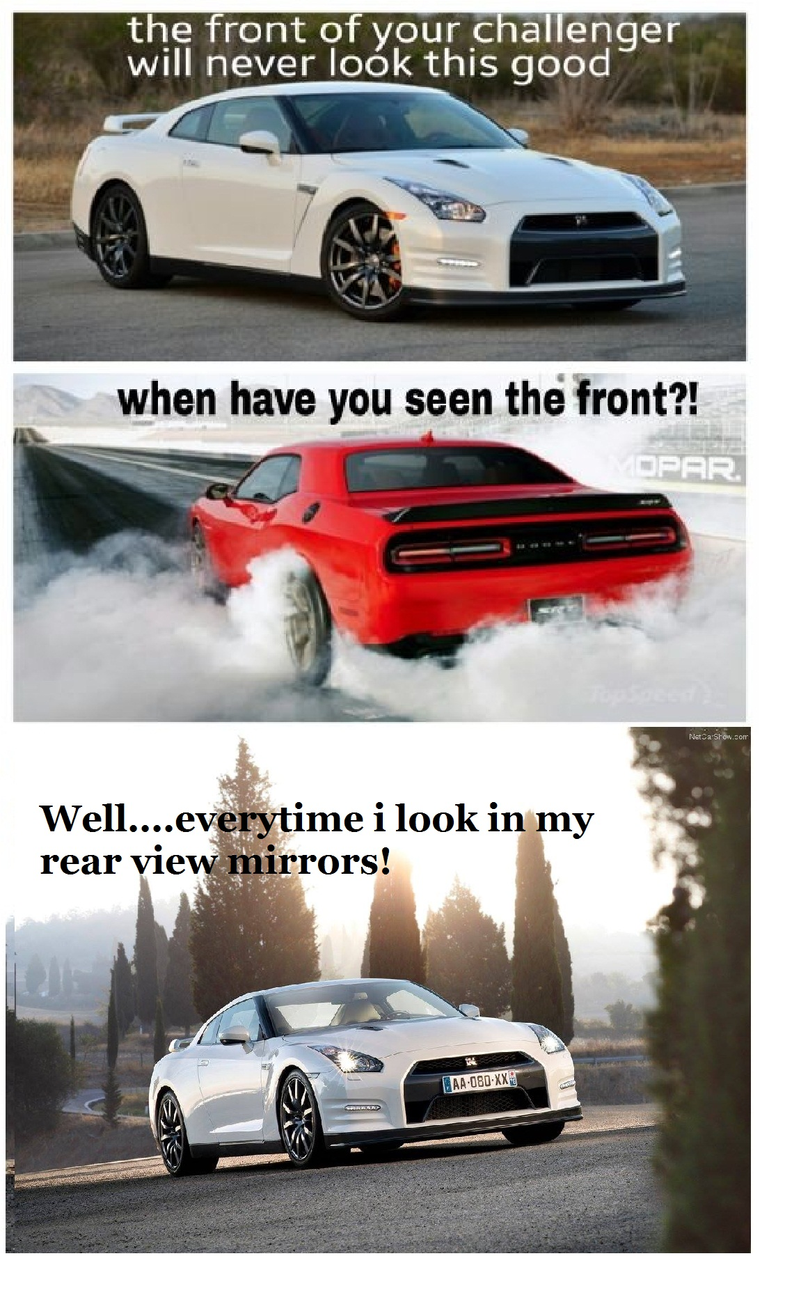 Imports Never Loose To Muscle Cars They Always Win