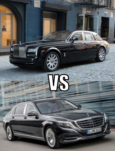 Rolls Royce Phantom Vs Mercedes Maybach S600 Which One Do