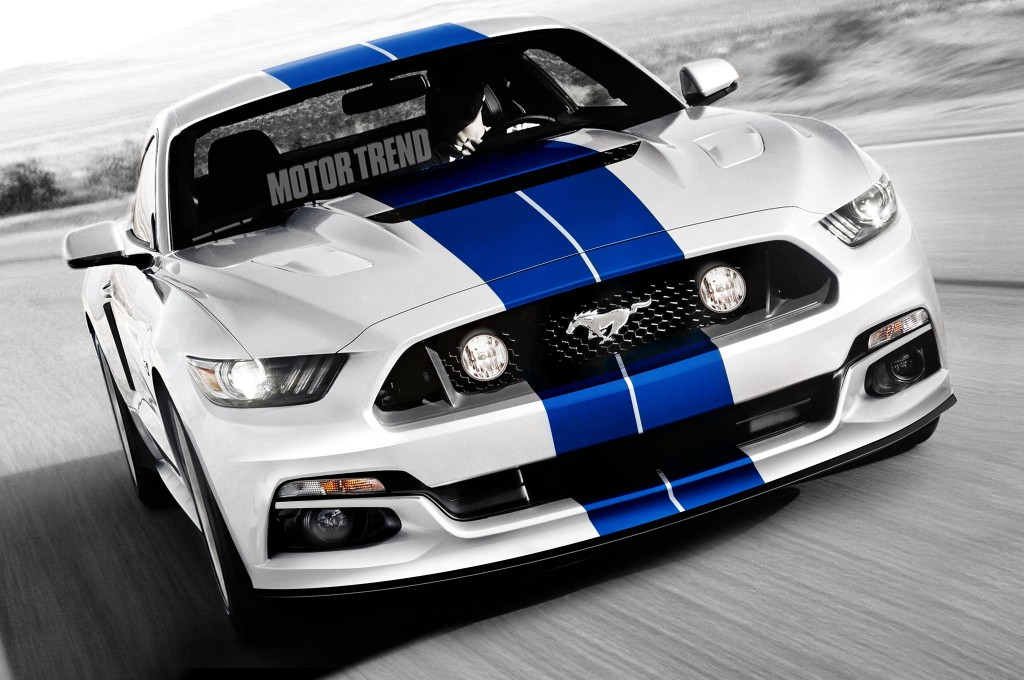 Cool The 2015 Shelby GT350 The First Mustang To Feature A Flat