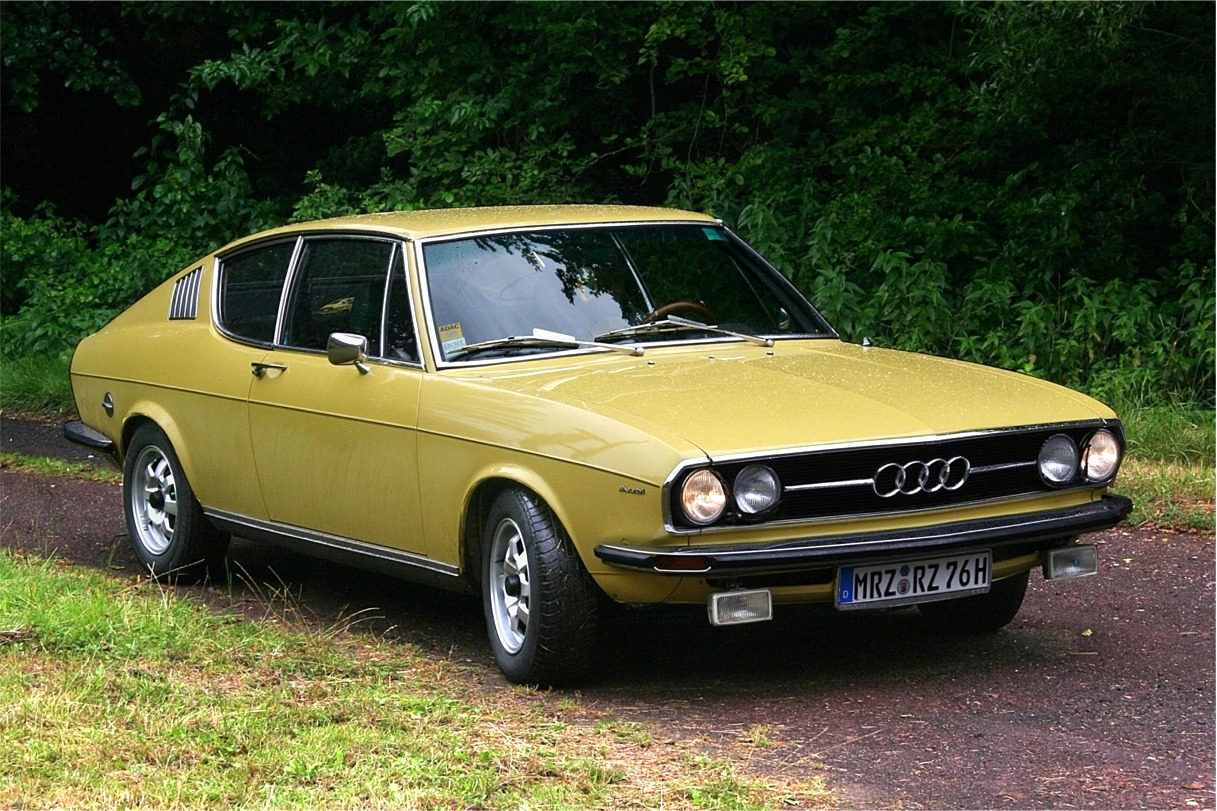 Audi 100 Coupe S Yes This Thing Is An Audi And Yes It S
