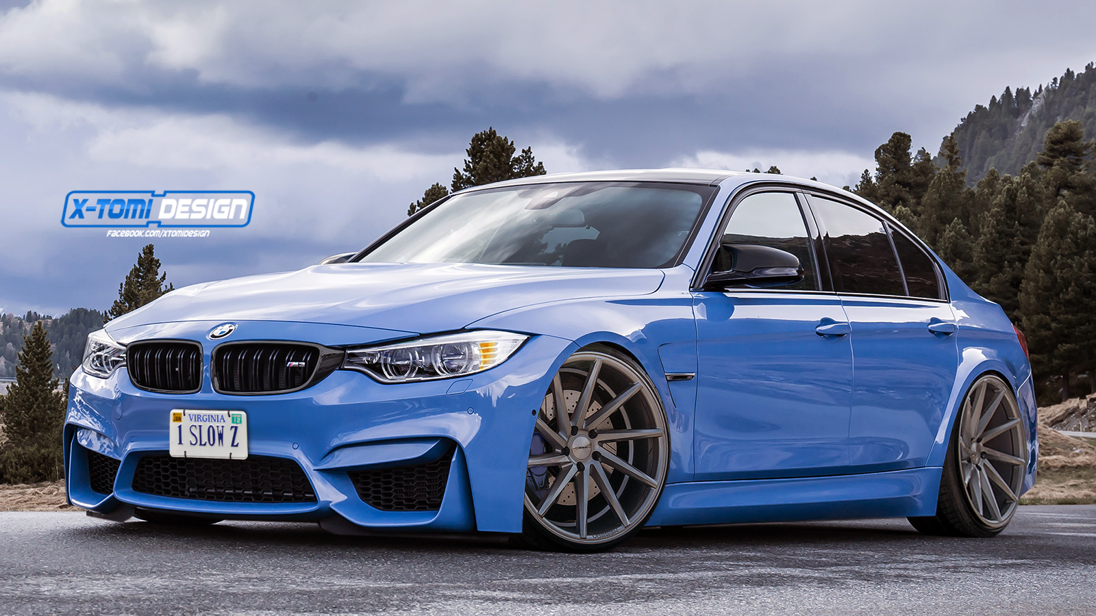 Low M3 With Vossen Cvt Rims