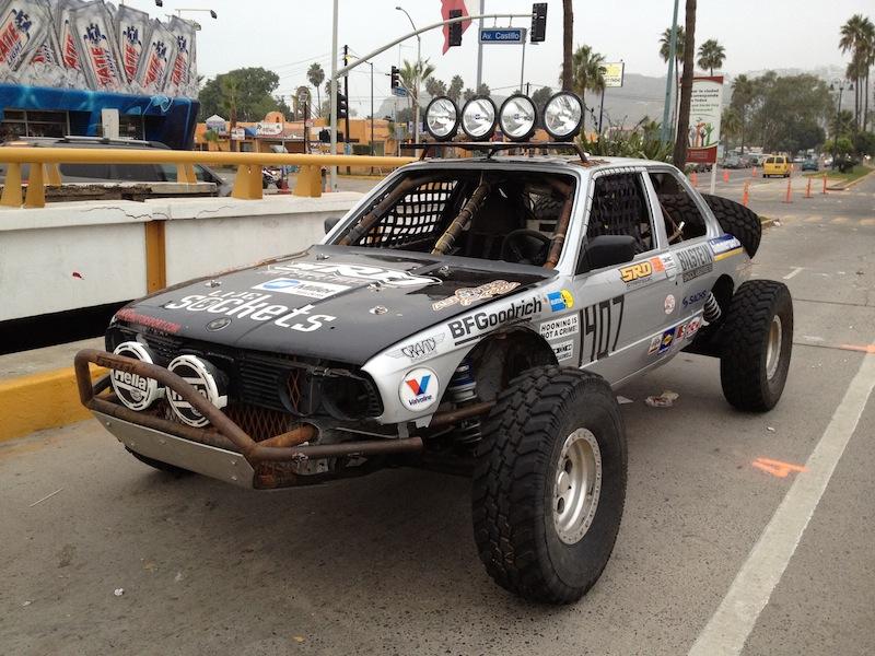 Monster Bimmer Built For The Baja 1000 On The Floor Of Sema